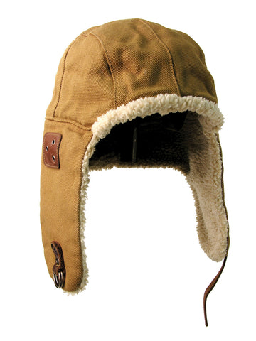 Baron Aviator Hat in Tobacco