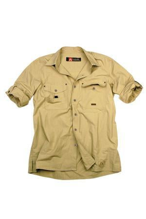 Concord Shirt in Taupe
