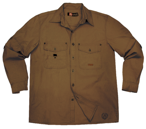 Concord Shirt in Tobacco
