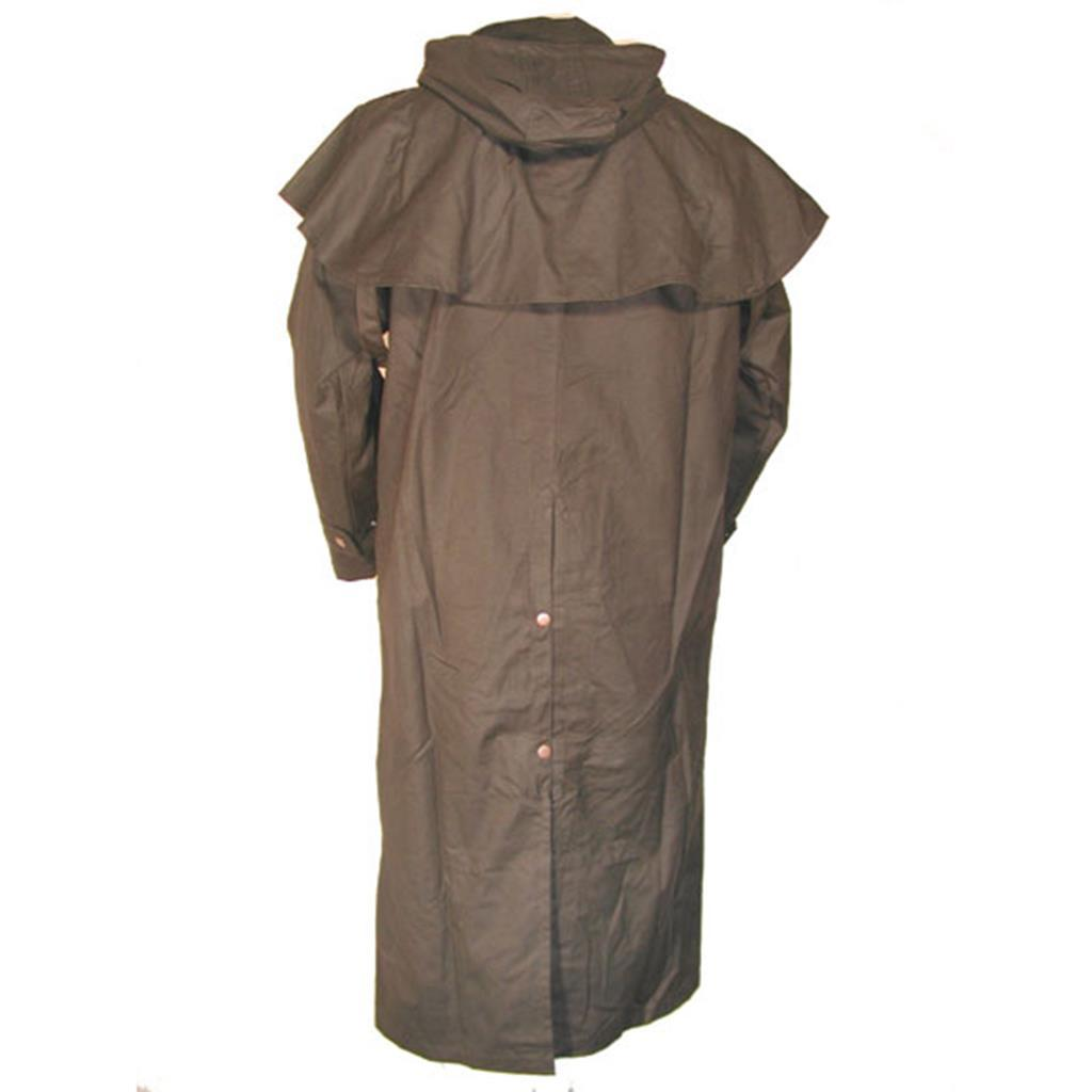 Hooded Storm Coat in Brown