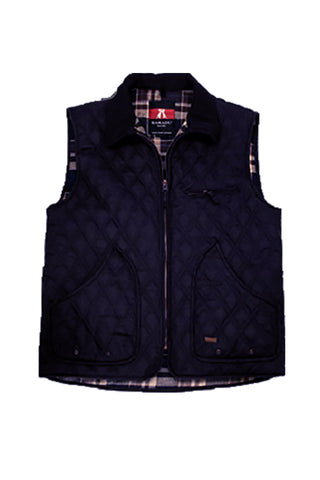 Hoover Vest in Navy