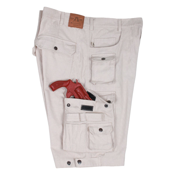 Holster Cargo Shorts in Taupe