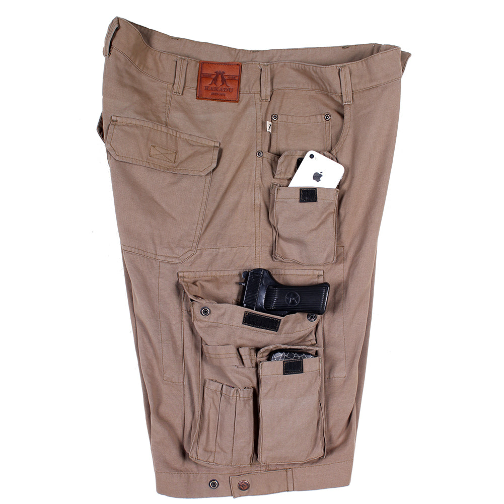 Holster Cargo Shorts in Tobacco