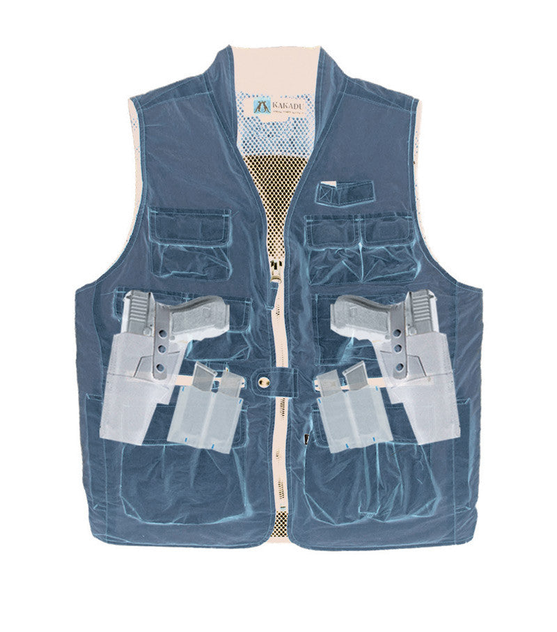 CAPE CONRAN VEST in Honey