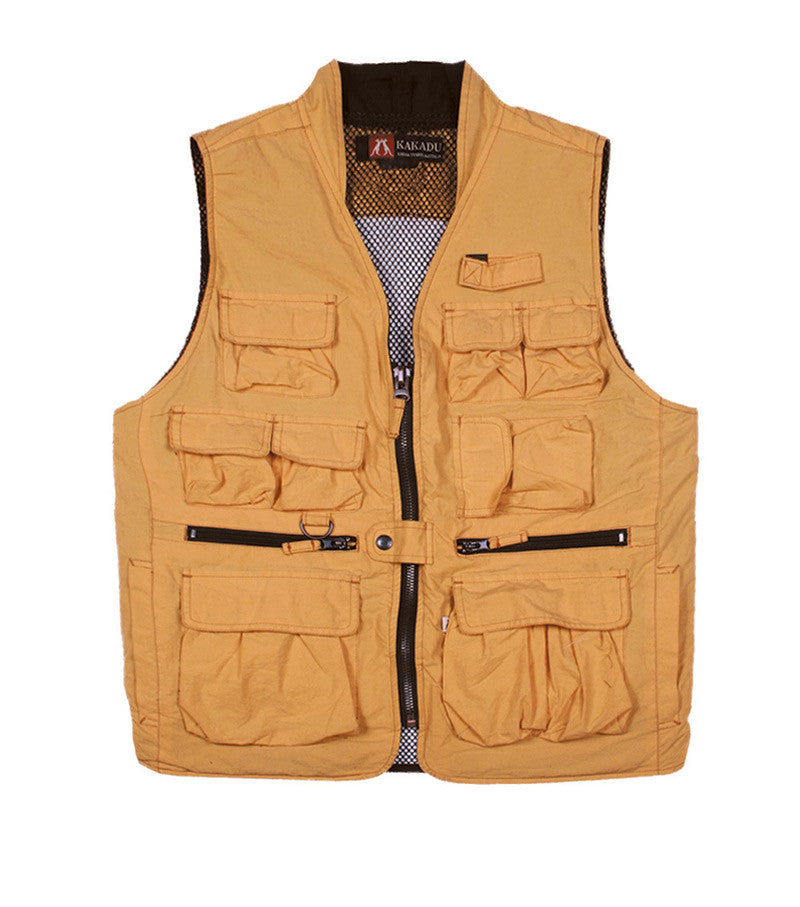 CAPE CONRAN VEST, yellow