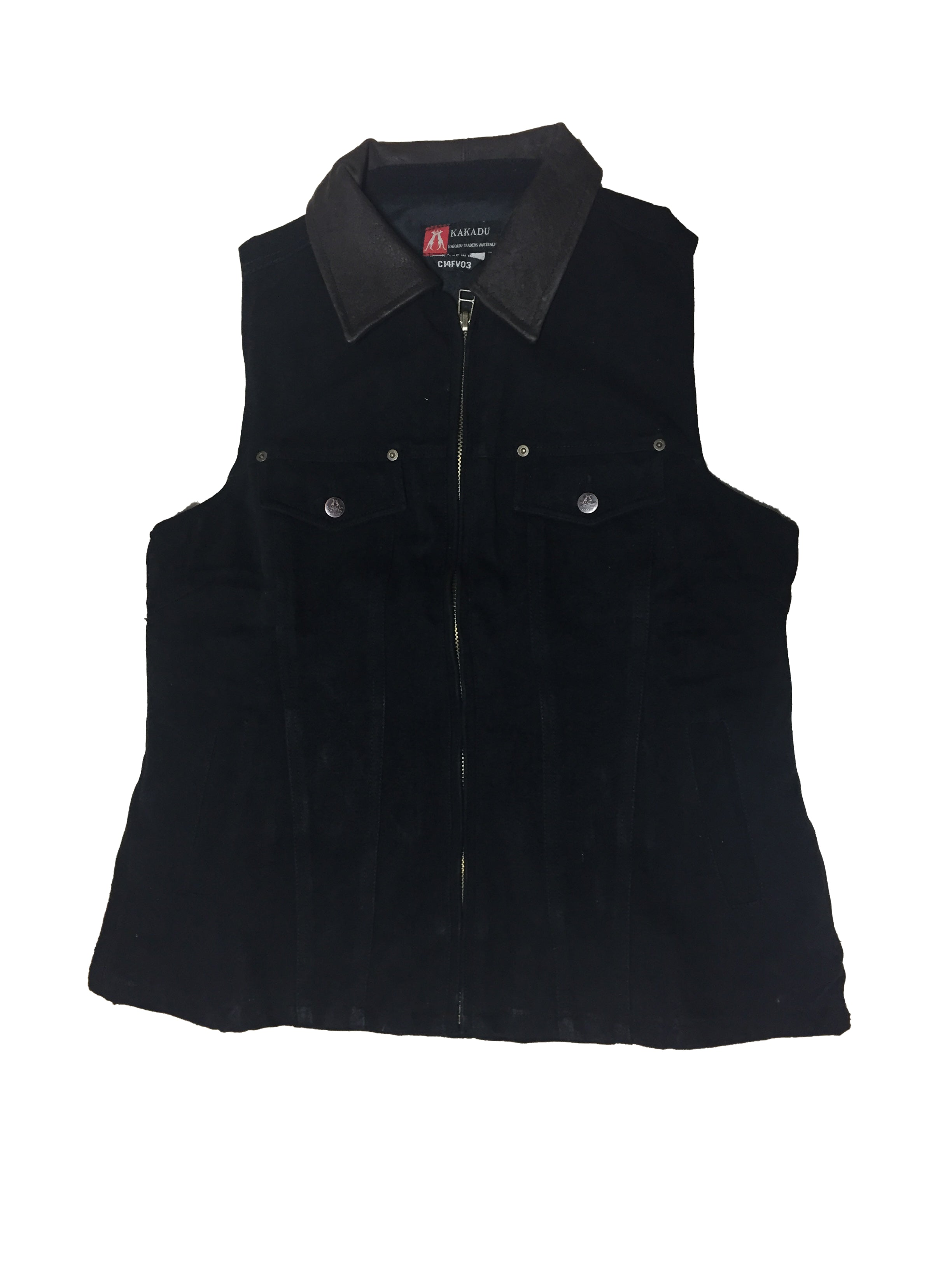 WOMEN'S THELMA VEST in Black