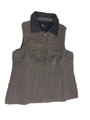 WOMEN'S THELMA VEST in Taupe