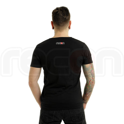 Recon Fitted T-Shirt - Rubber