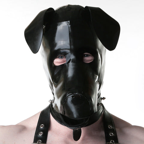 Recon London Pup Rubber Hood - Black