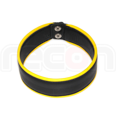 Recon Leather Arm Band - Yellow