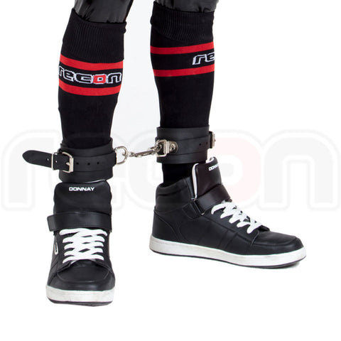 Rubber Bondage Ankle Cuffs