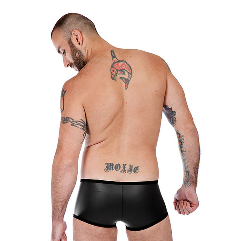 Neoprene Boxer Shorts - Black
