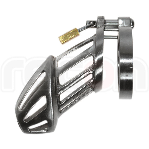 BON4M Stainless Steel Chastity Device