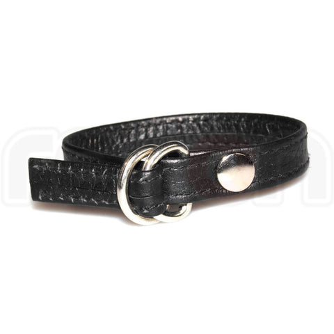 Recon Leather Double D-Ring Cock Strap