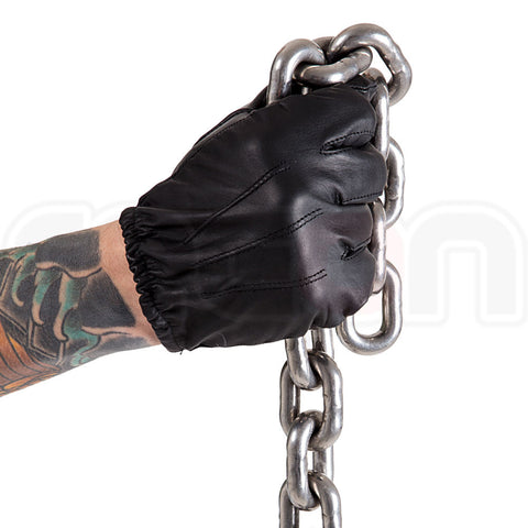 Leather Fitted Gloves