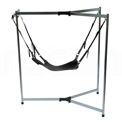 RED Stainless Steel Heavy Duty Leather Sling Frame Package