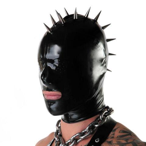 Recon London Perverted Rubber Mohawk Hood - Pin Prick Features