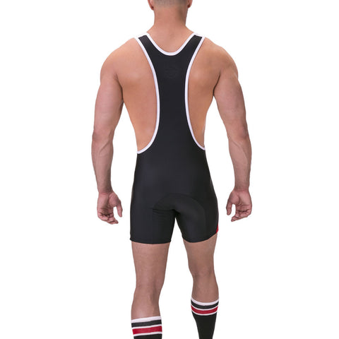 Barcode Luckenwalde Singlet - White/Red/Black