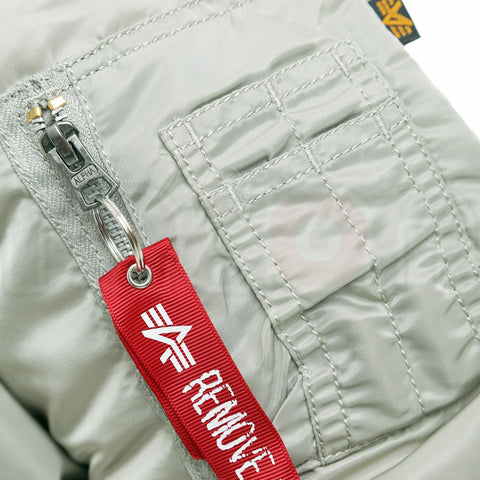 Alpha Industries Classic MA1 Jacket - Silver
