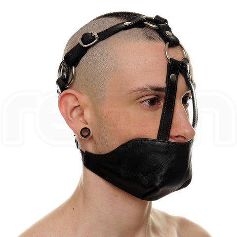 Recon Leather Mouth Chin Gag