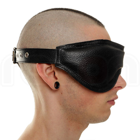 Recon Leather Padded Blindfold