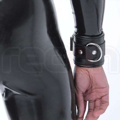 Recon Padded Leather Wrist Cuffs
