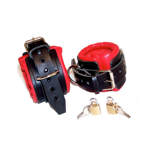 Fetters Padded Leather Wrist Cuffs
