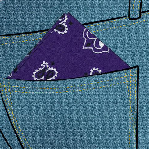 Purple Hanky - Piercings