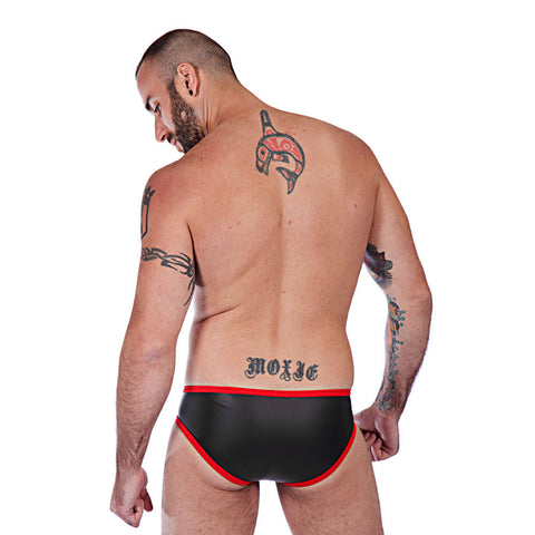 Neoprene Briefs - Red