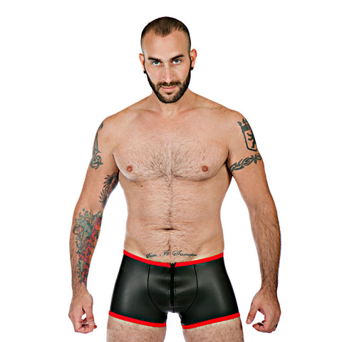 Neoprene Boxer Shorts - Red