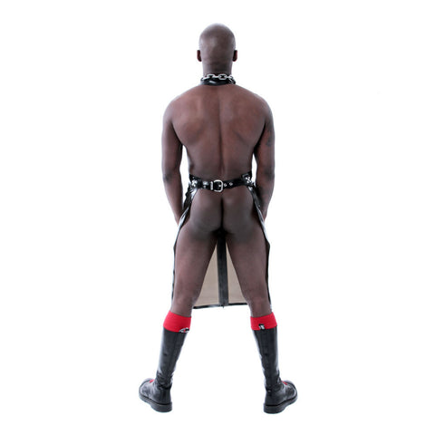 Recon London Perverted Rubber Apron - Semi-Trans Black