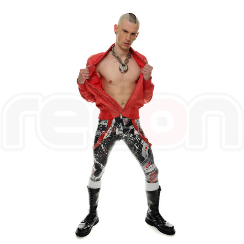 Limited Edition Recon London Rubber Skin Jeans