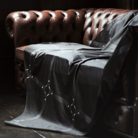 Sheets of San Francisco - Black Strap Throw Sheet