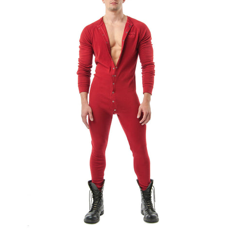 Nasty Pig Union Suit - Red