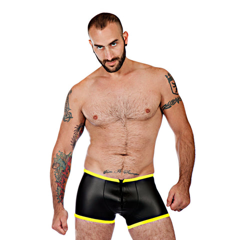 Neoprene Boxer Shorts - Yellow