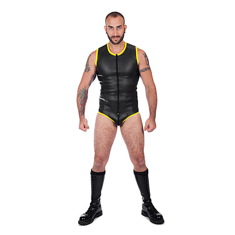 Neoprene Zip Vest - Yellow