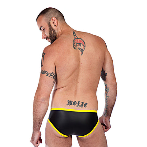 Neoprene Briefs - Yellow