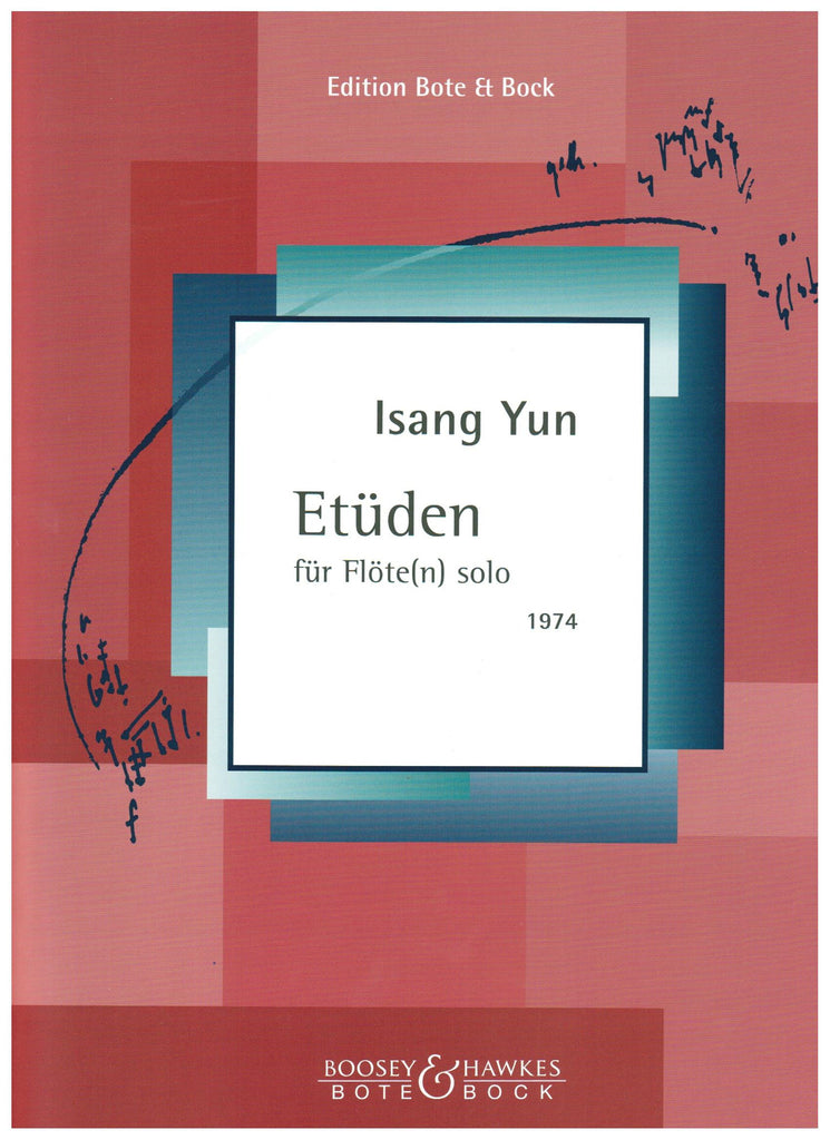 Yun, Isang : Etuden for Flute Solo