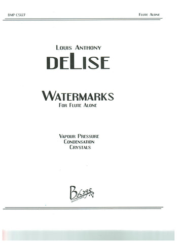 deLise, Louis Anthony  : Watermarks
