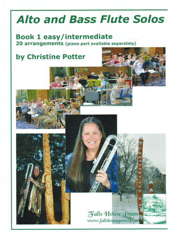 Potter, Chris :  Flute Solos Book 1