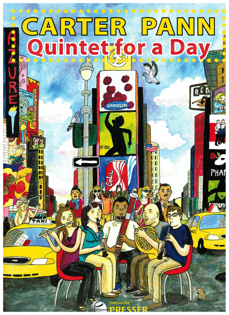 Pann, Carter : Quintet for a Day