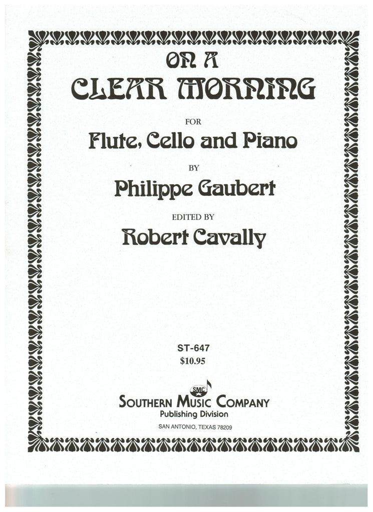 Gaubert, Philippe : On A Clear Morning