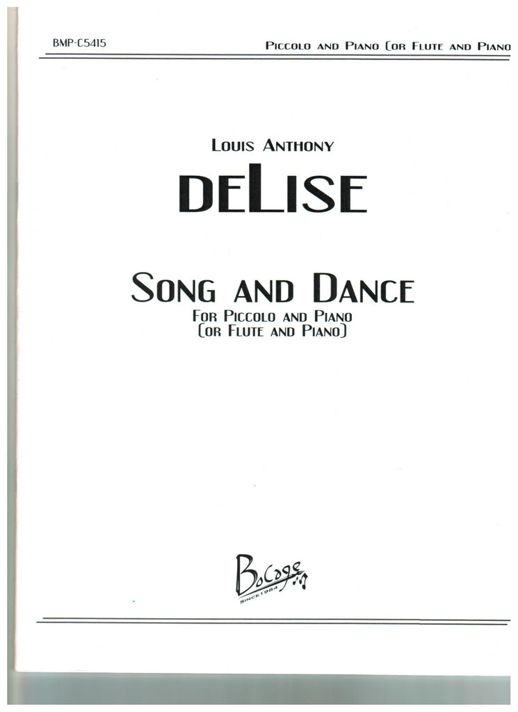 deLise, Louis Anthony : Song and Dance