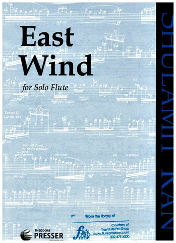 Ran, Shulamit  : East Wind