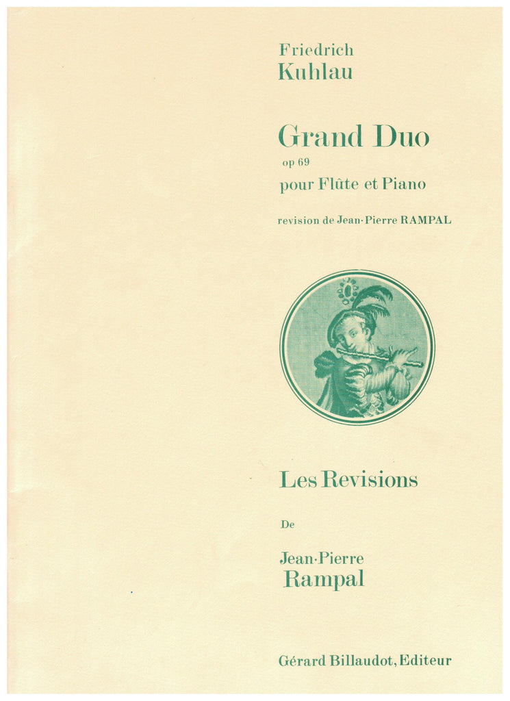 Kuhlau, Friedrick : Grand Duo,  Op. 69