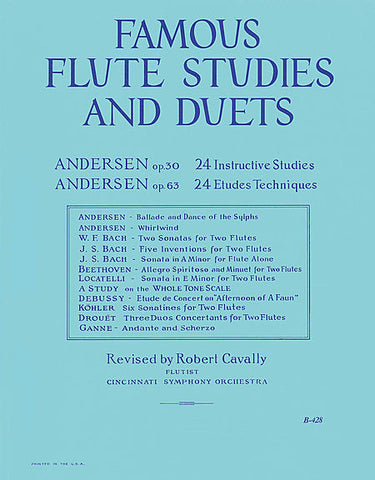 Famous Flute Studies and Duets