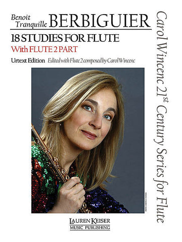 Berbiguier, Benoit Tranquille :18 Studies for Flute