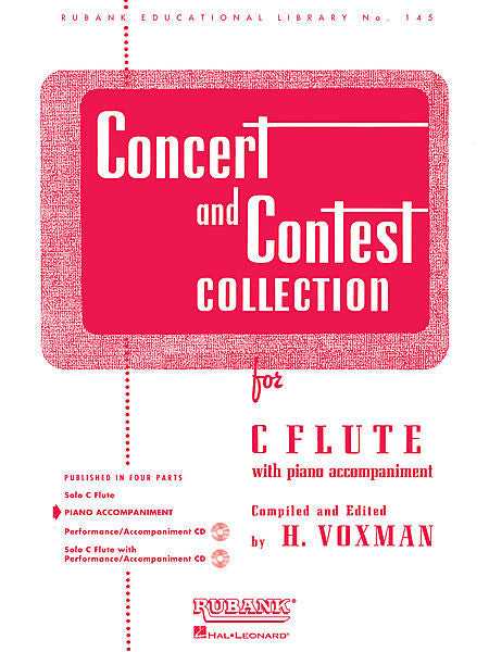 Concert and Contest Collection-Piano Accompaniment