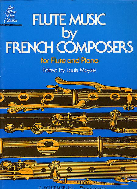Flute Music By French Composers Edited by Moyse