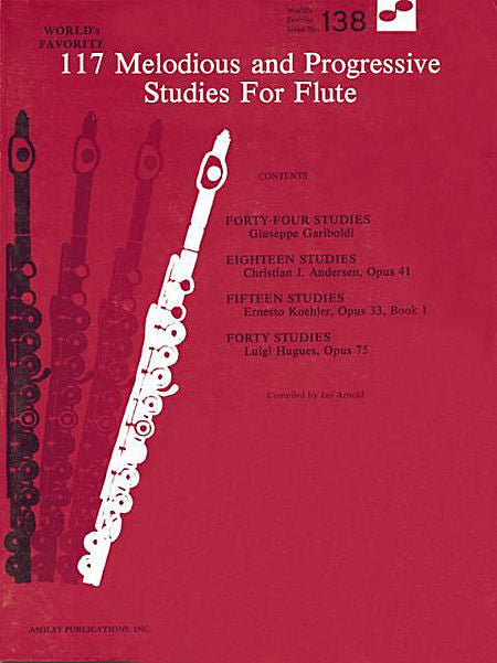 117 Melodious and Progressive Studies for Flute